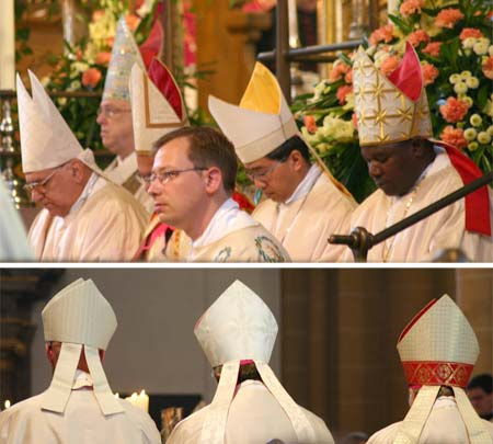僧帽弁の名前の由来(司教冠)
